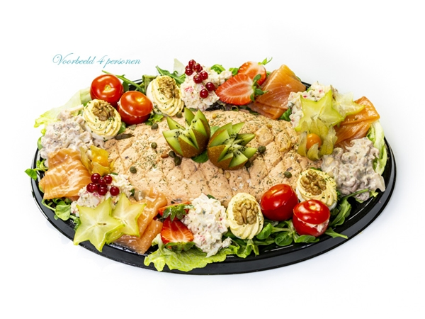 Salade Zalm 4 Pers.